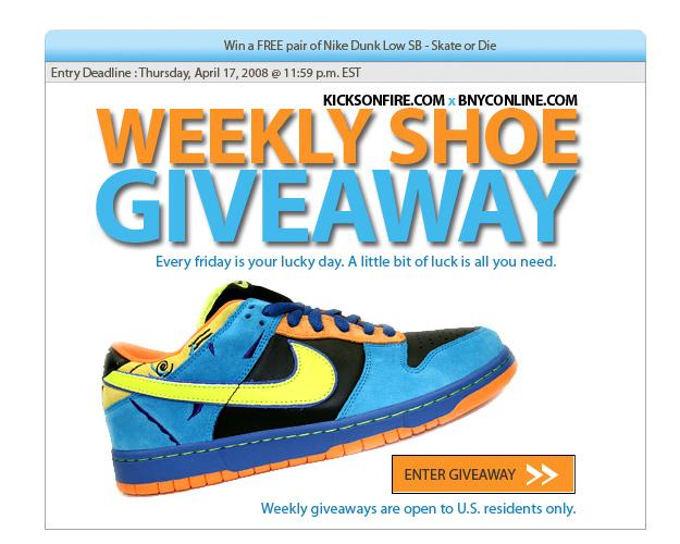 newest e8251 0fb3f Win a FREE pair of Nike Dunk SB - Skate or Die (Ends Thrusday Night) •  KicksOnFire.com