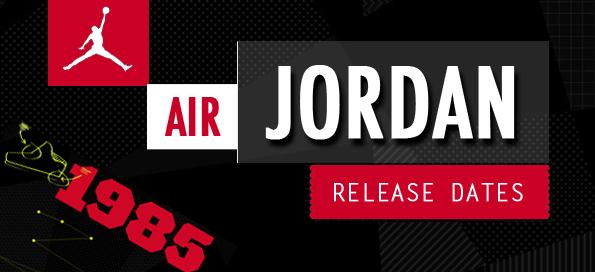 Air Jordan Release Dates 2019