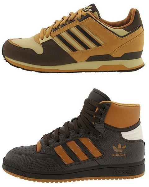 Adidas Wheat ZXZ and Centennial Mid