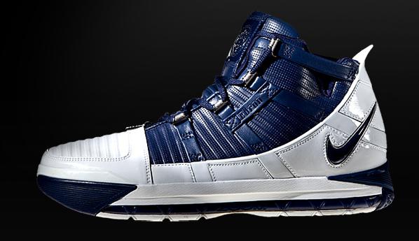 Nike Zoom Lebron 3 (III) - Blue / White