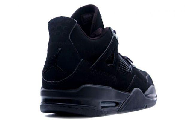 Air Jordan 4 (IV) Retro - Black Cat (Black / Black - Light Graphite)