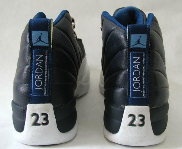 Air Jordan 12 (XII) Original (OG) - Obsidian (Obsidian / White - French Blue)