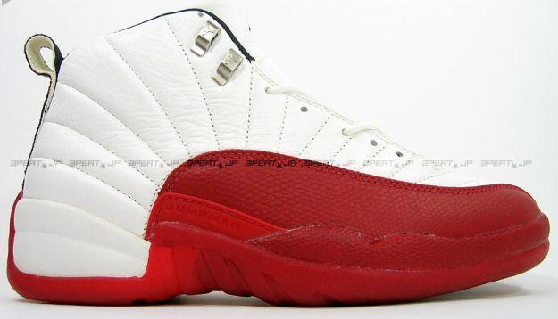 Air Jordan 12 (XII) Original (OG) - White / Varsity Red - Black