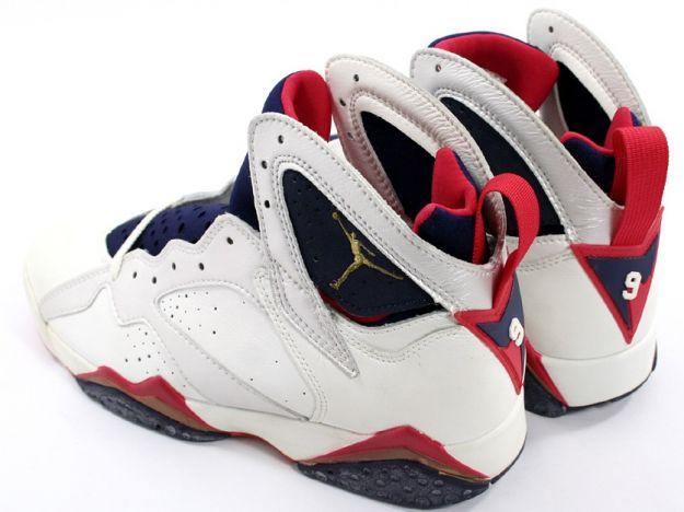 Air Jordan 7 (VII) Original (OG) - Olympics (White / Midnight Navy / True Red)