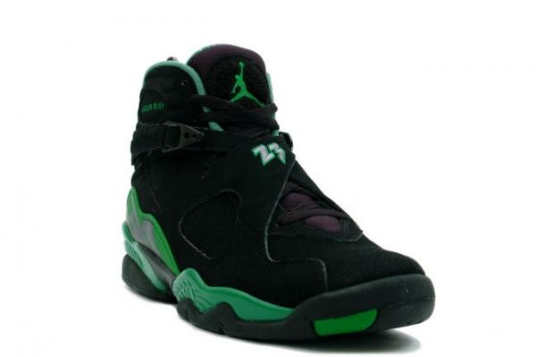 jordan 8 black and green