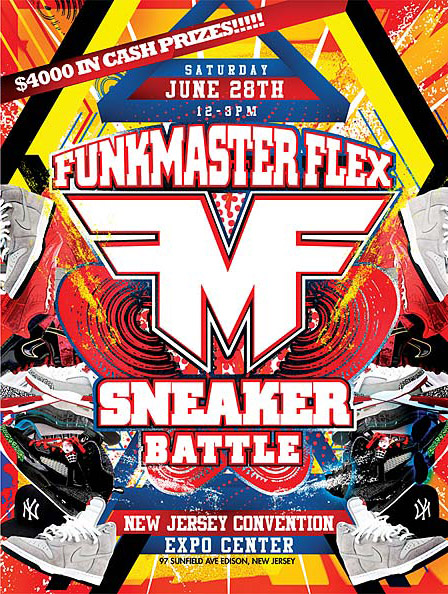 Funkmaster Flex Sneaker Battle