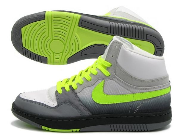 New Nike Court Force Highs - Neon & Chill