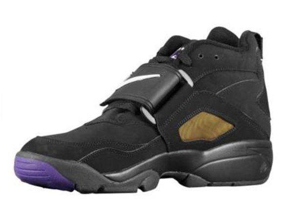 Nike Air Diamond Turf - Black/Purple