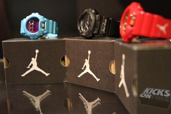 G-Shock X Jordan Brand Collection