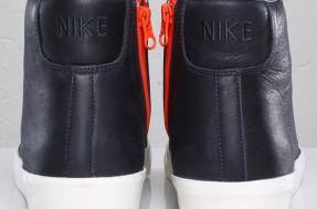 Nike Blazer Mid AB TZ – Dark Obsidian – Safety Orange