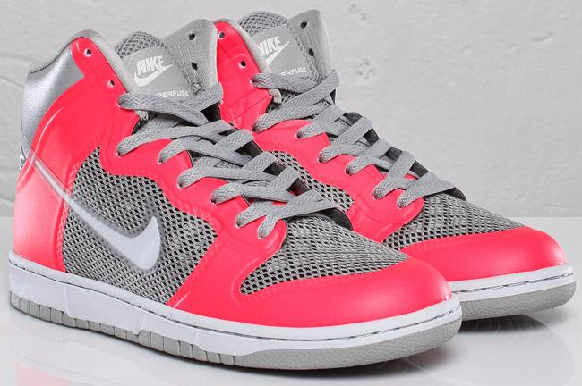 Nike Dunk Hi Hyperfuse - Grey / Solar