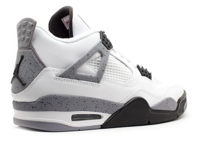 Air Jordan 4 Retro White Cement (2012) • KicksOnFire.com