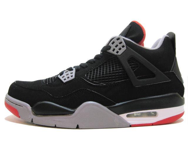 "Air Jordan 4 Retro ""Black Cement"" (Fall 2012 Release)"