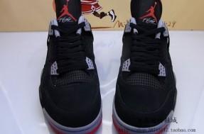 Air Jordan 4 - Black / Cement