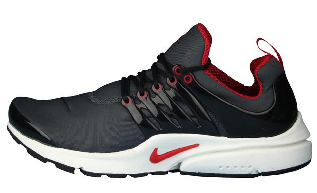 Nike Air Presto - Dark Grey & University Red (2)