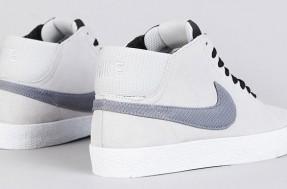 Nike SB Blazer Mid LR - Strata Grey & Metallic Cool Grey (4)