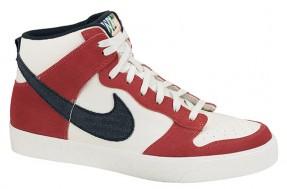 Nike Dunk High AC – Sail / University Red / Black (3)
