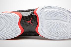 "Air Jordan 28 - Black / Bright Crimson ""Carbon Fiber"" (2)"