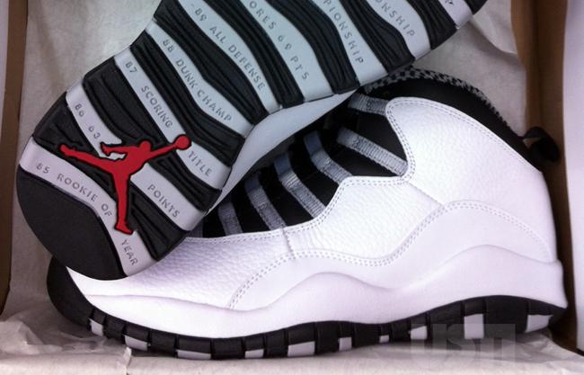 """Air Jordan 10 Retro """"Steel"""" (2)"""