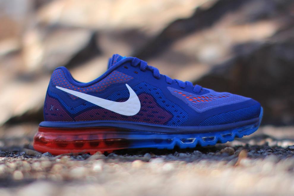 Nike Air Max 2014 - Blue/Light Crimson • KicksOnFire.com