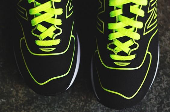 new balance 574 neon yellow