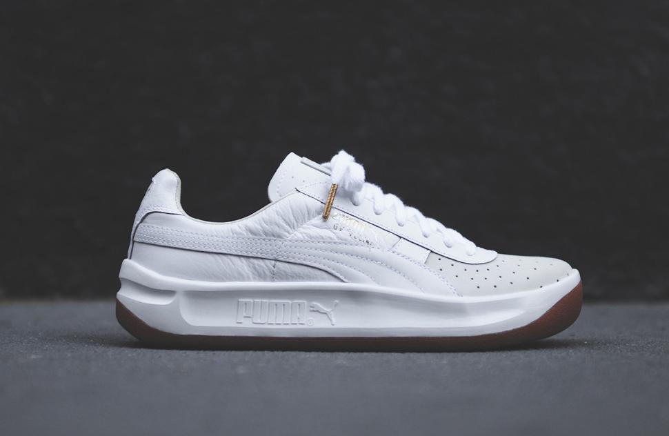 all white puma gv special