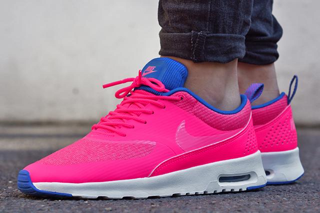 Schwarz Pink Schuhe Nike Sportswear | Air Max Thea