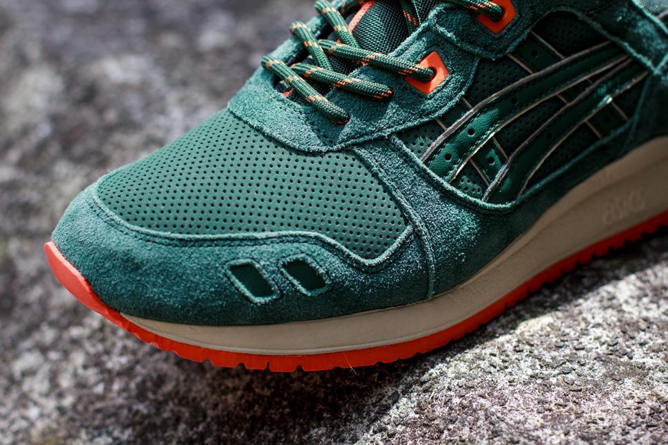 buy online 621a1 ef4df ASICS GEL-Lyte III - Dark Green/Orange • KicksOnFire.com
