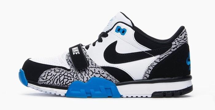 sociedad escena Roca  Elephant Print Meets Photo Blue On This Nike Air Trainer 1 Low •  KicksOnFire.com