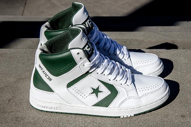 "buy online 45288 5eb9e Converse CONS Weapon Mid ""Celtics"""