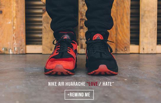 nike love hate huarache