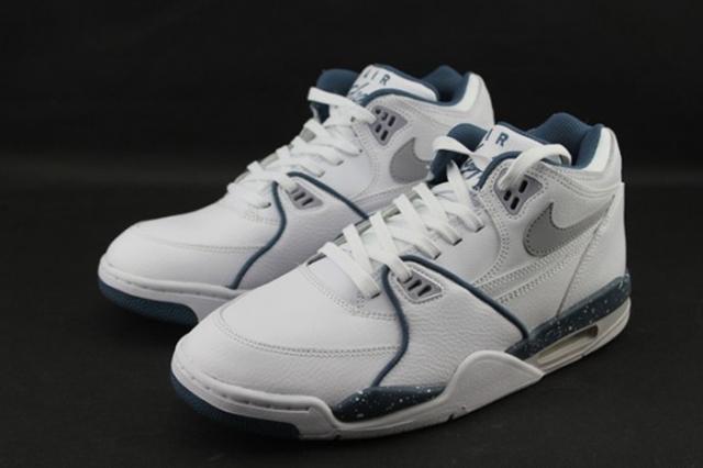 Cheap Nike Air Flight 89 New Slate white grey Slate Blue