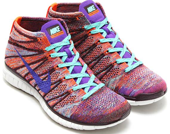 wholesale dealer f6fec eccac A New Multicolored Nike Free Flyknit Chukka For The Ladies ...