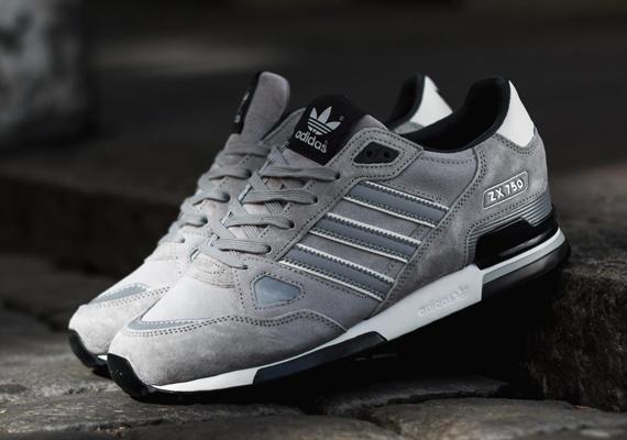 quality design e479d f8974 adidas Originals ZX 750 – Silver   Black