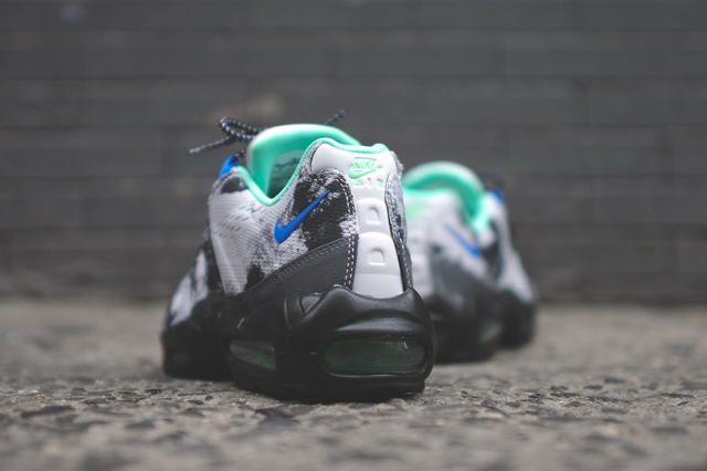"best website 8b75e cbaa8 The good people at KITH have stocked their shelves with the Nike Air Max 95  ""Space Mission"" kicks. We ve already taken a look at these kicks, ..."