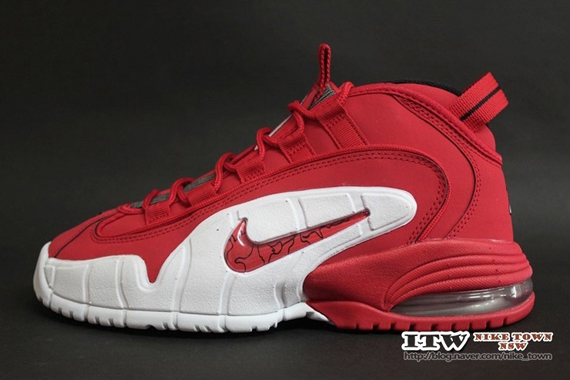 Nike Air Penny 1 - Red / White (Closer