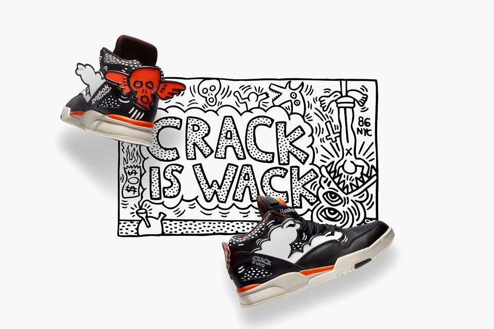 Reebok x Keith Haring FallWinter 2014 Collection