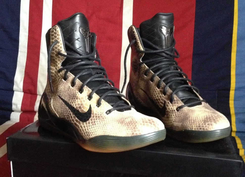 "reputable site 34517 91571 This Kobe 9 Gives The Name ""Black Mamba"" a Whole New Meaning"