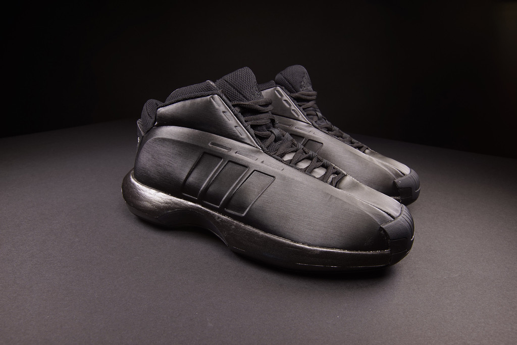 The adidas Crazy 1 Goes All-Black