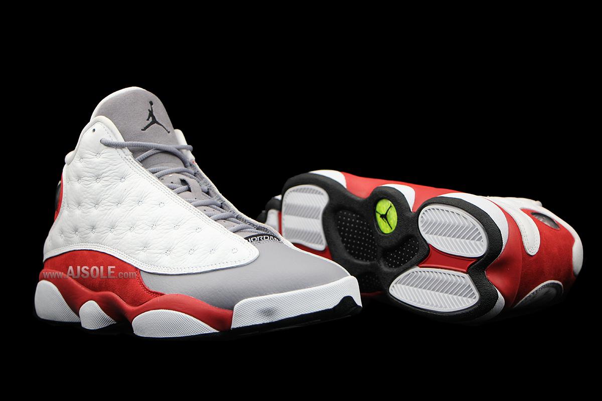 Air Jordan 13 Grey Toe • KicksOnFire.com