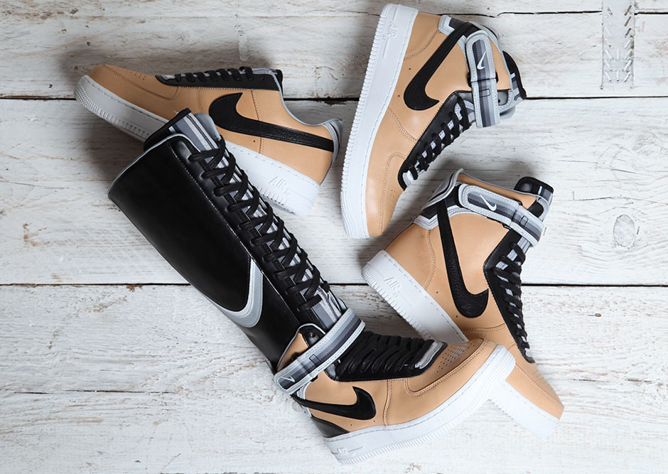 "nouveau style f7298 590d1 Riccardo Tisci x Nike Air Force 1""Vachetta Tan"" Collection ..."