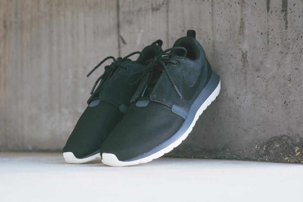 new styles a8a5f 2d28b Nike Roshe Run NM Black   Dark Magnet Grey • KicksOnFire.com