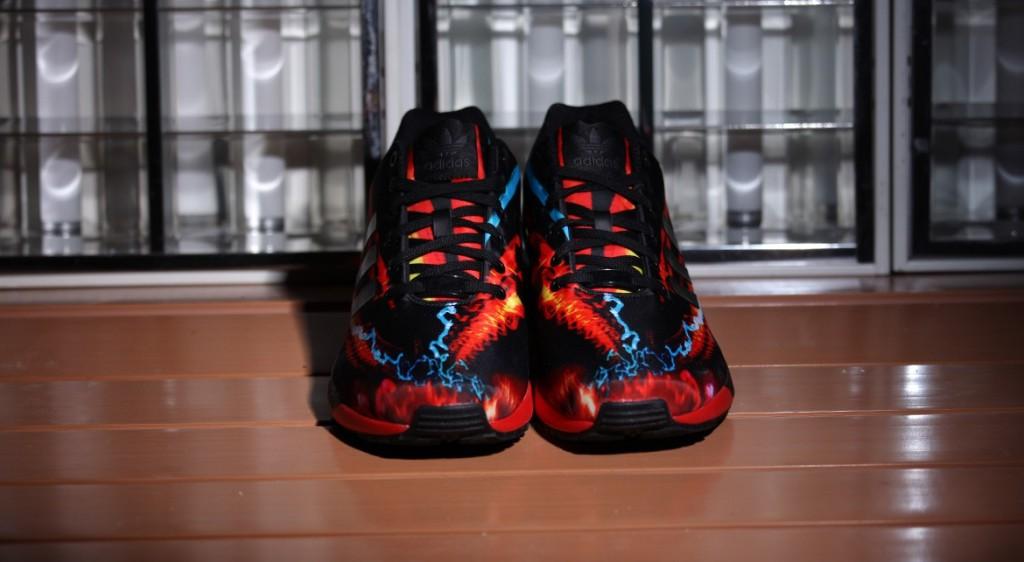 adidas Originals ZX Flux Red Core Black Carbon