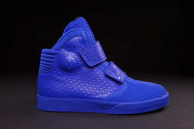 Nike Flystepper 2k3 Premium UK 6 Hyper Cobalt Chrome Blue 677473400