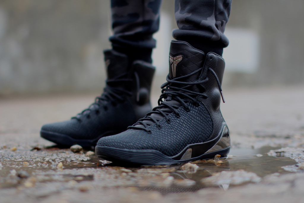 b2d421dde7ea1 On-Feet Images of The Nike Kobe 9 High KRM EXT