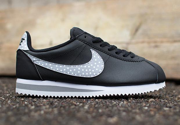 "new styles 375df 1a2d0 Nike WMNS Cortez Classic ""Polka Dot Swoosh"""