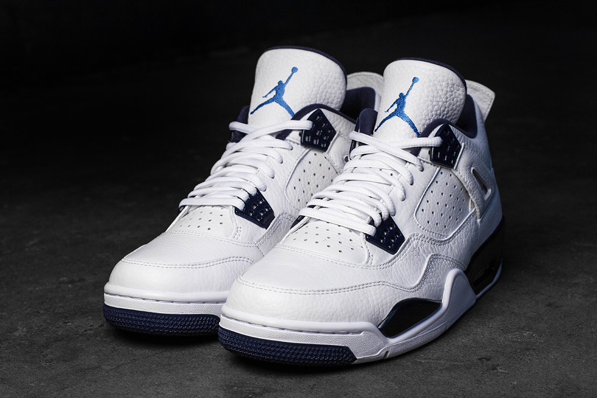 """best service eecf4 857b5 Get Up Close And Personal With The Air Jordan 4 """"Legend."""