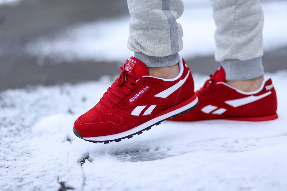 """d19d1e365 Reebok Classic Leather """"Red Suede"""" - Just The Way We Like It •  KicksOnFire.com"""