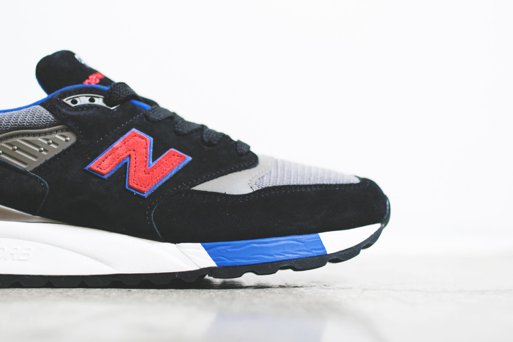 info for cf352 e0ed8 A Classic Finish of the New Balance 998 - Black / Red ...