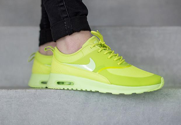 best website b1c9d 57892 Nike Air Max Thea - Cyber   Liquid Lime • KicksOnFire.com